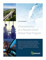 Characteristics of a Results-Driven Global Fleet Program