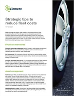 Strategic Tips to Reduce Fleet Costs