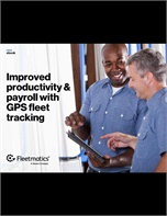 Improved Productivity & Payroll With GPS Fleet Tracking