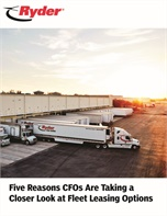 Five Reasons CFOs Are Taking a Closer Look at Fleet Leasing Options