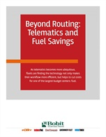 Beyond Routing: Telematics and Fuel Savings