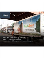 Four Route Planning Tips for your Growing Business