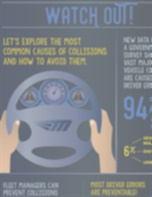 [Infographic] Most Common Causes of Collisions and How to Avoid Them