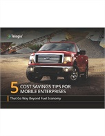 5 Cost Savings Tips for Mobile Enterprises That Go Way Beyond Fuel Economy